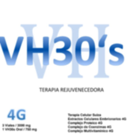 Vacuna Antivejez Vh30s, Terapia Celular Antienvejecimiento  , celulas madre rejuvenecedoras de Suiza