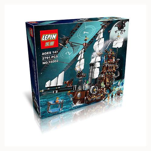 Коробка аналог Lego Movie Корабль Стальной Бороды | 70810 | LEGOREPLICA