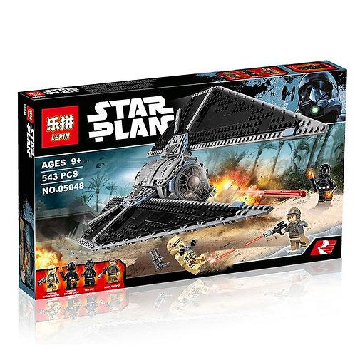 Коробка аналог Лего Star Wars Ударный истребитель СИД (TIE Striker) | 75154 | LEGOREPLICA