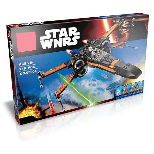 Коробка аналог Lego Star Wars Истребитель Дэмерона По | 75102 | LEGOREPLICA