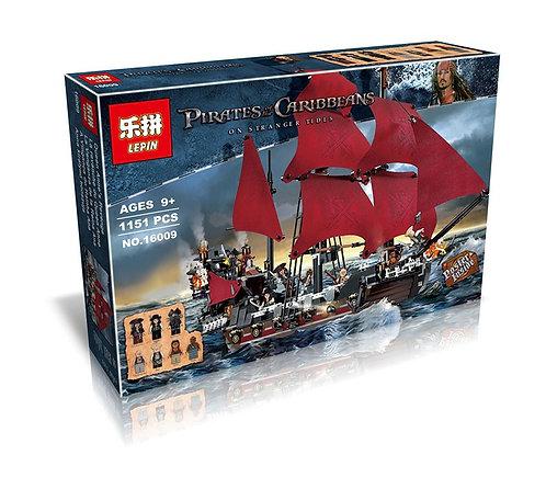 Коробка аналог Lego Pirates Корабль Месть Королевы Анны | 4195 | LEGOREPLICA