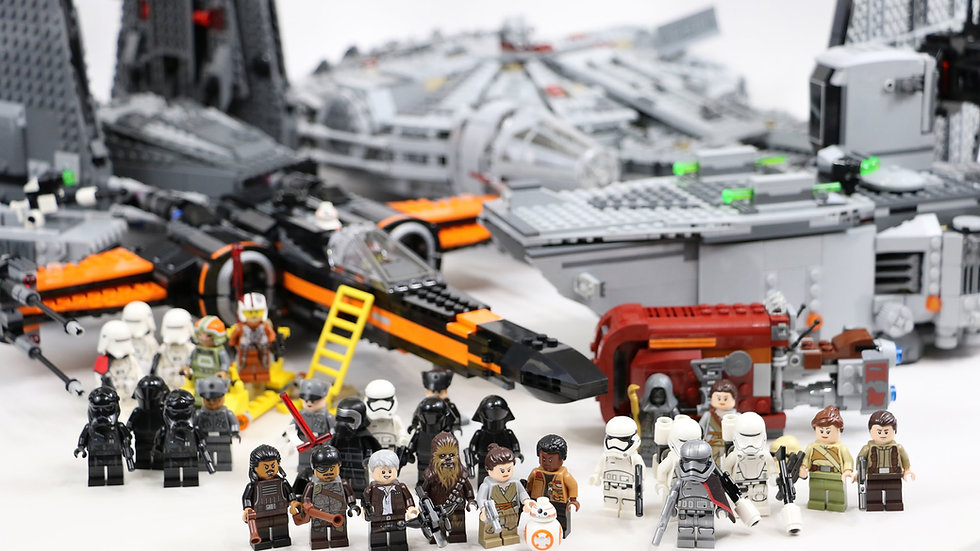 Наборы конструкторов Lepin из серии Лего Звездные Войны