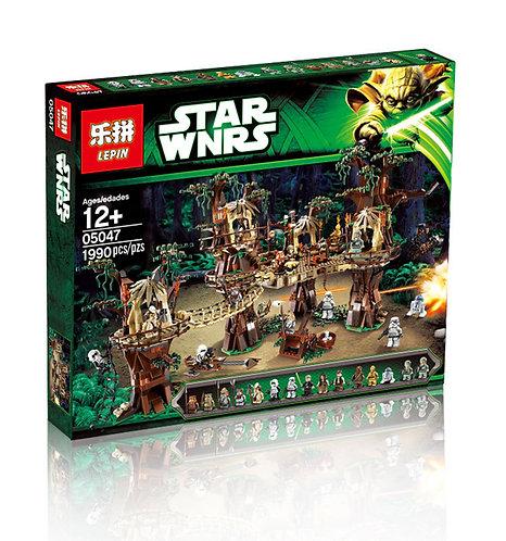 Коробка аналог Lego Star Wars Деревня Эвоков | 10236 | LEGOREPLICA