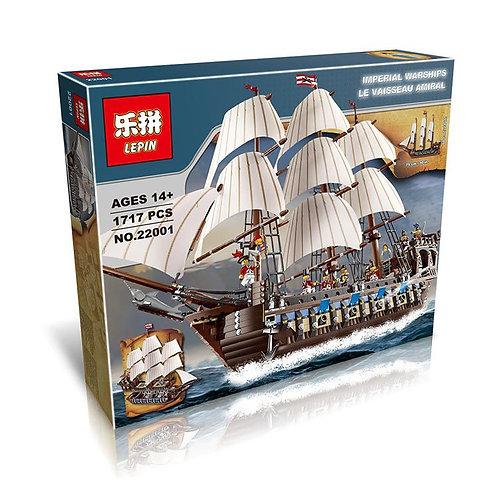 Коробка аналог Lego Pirates Корабль Имперский флагман | 10210 | LEGOREPLICA