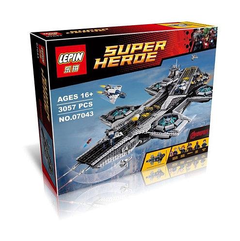 Коробка аналог Lego Super Heroes Щ.И.Т. Геликарриер | 76042 | LEGOREPLICA