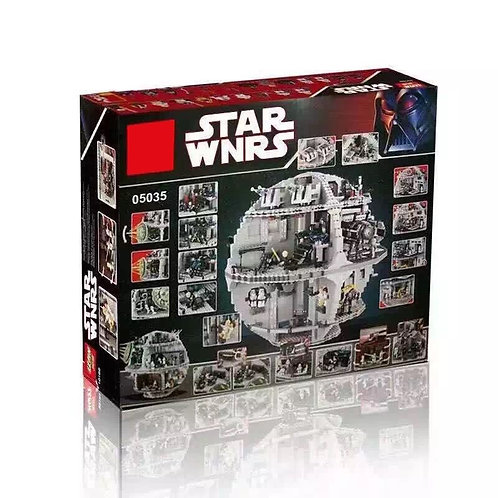 Коробка аналог Lego Star Wars Звезда Смерти | 10188 и 75159 | LEGOREPLICA
