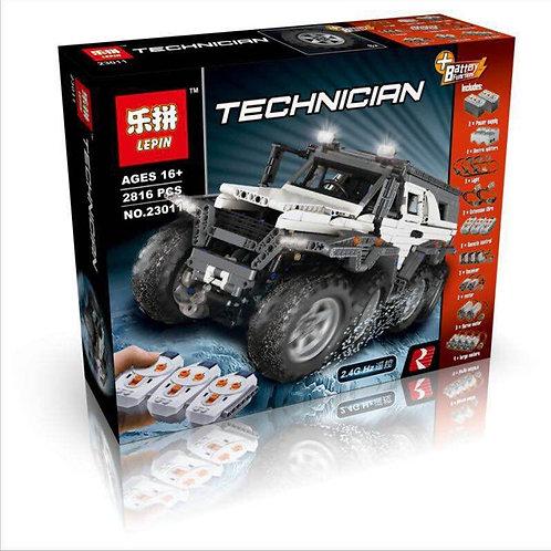 Коробка аналог Lego Technic Вездеход Авторос Шаман 8x8   MOC-5360   LEGOREPLICA