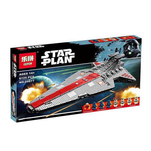 Коробка аналог Lego Star Wars Звёздный разрушитель класса Венатор | MOC-0694 | LEGOREPLICA