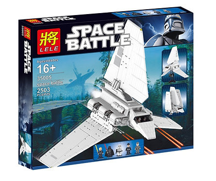 Коробка аналог Lego Star Wars Имперский Шаттл Collector's | 10212 | LEGOREPLICA