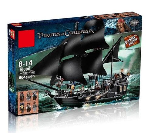 Коробка аналог Lego Pirates of the Caribbean Черная Жемчужина   4184   LEGOREPLICA