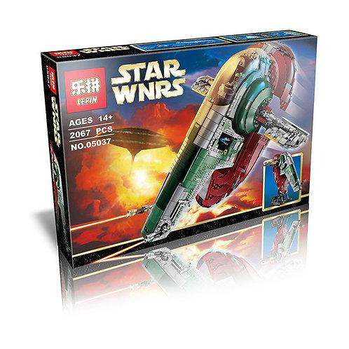 Коробка аналог Lego Star Wars Слэйв 1 (Slave I | РАБ-1™) | 75060 | LEGOREPLICA