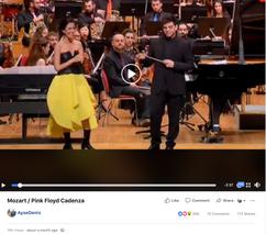 Mozart Cadenza with Pink Floyd