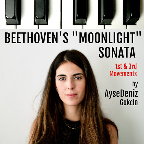 "Beethoven ""Moonlight"" Sonata Mvt. 3"