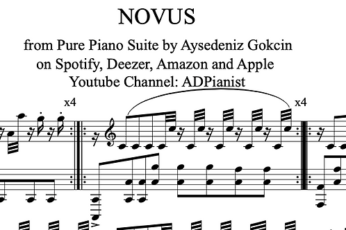"""""""Novus"""" Piano Score (PDF)"""