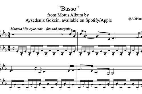 'Basso' by AyşeDeniz - Sheet Music (PDF)