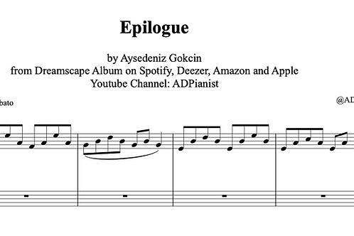 """""""Epilogue"""" Piano Score (PDF)"""