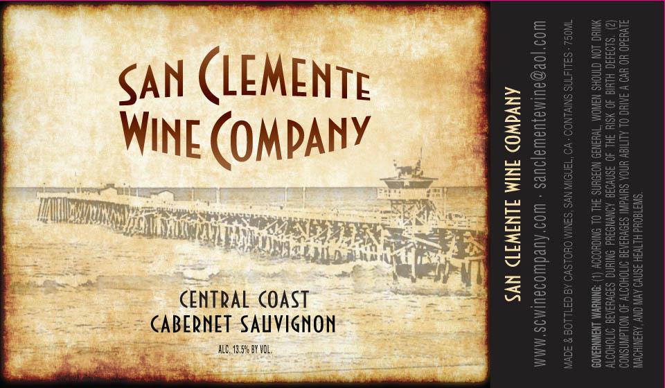 San Clemente Wine Co Cabernet