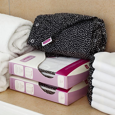 Mudrop Milk towel, breastfeeding wrap, breast pads