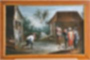 joueurs de quilles après restauration