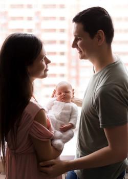 Родители и малыш