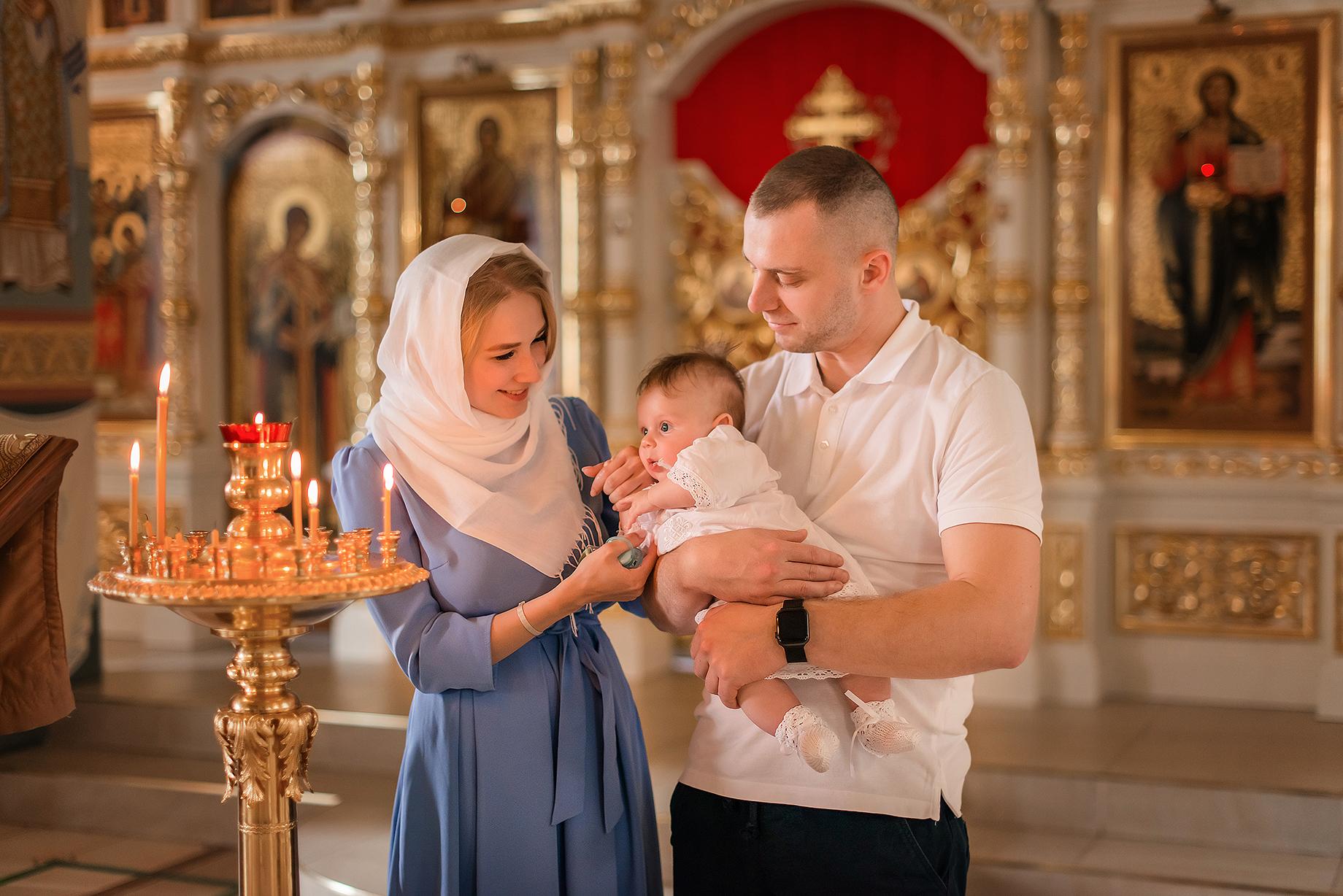 Крещение Видное