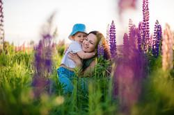 Фотосессия в цветении