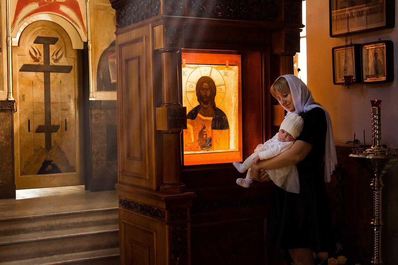 Крещение Москва