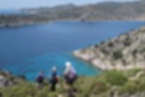 Wandern auf dem Karischen Weg, Türkei.