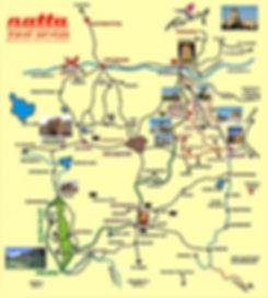 Kappadokien, Göreme Übersicht Karte, Wandern