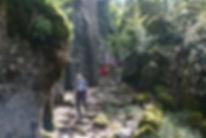 Köprülü Canyon, wandern auf dem Paulusweg.