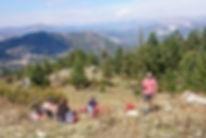 Wandern auf dem Paulusweg in der Türkei.
