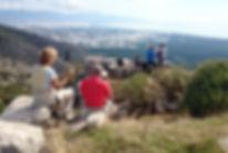 Wandern in der Türkei, auf zum Tahtalı Berg.