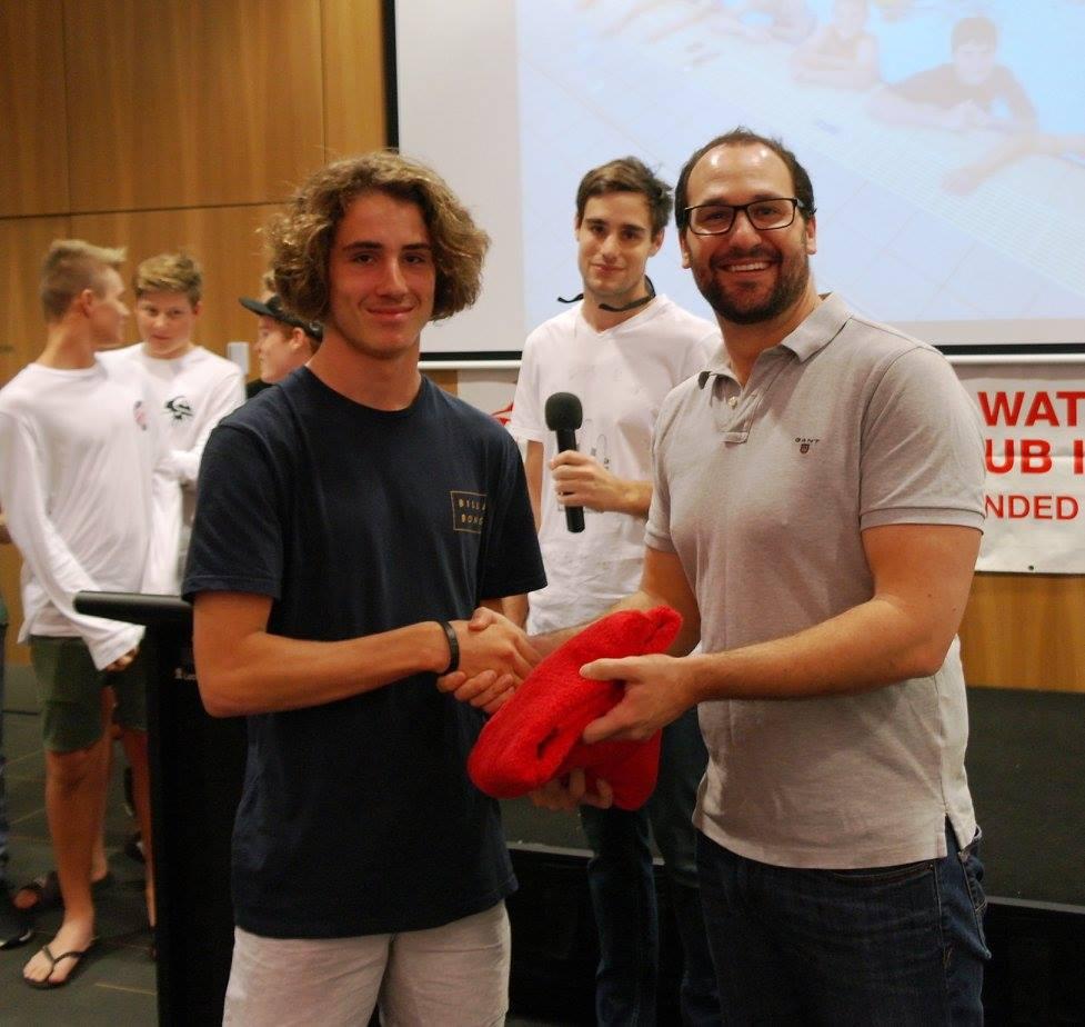 16U Boys Coach's Award Kieran Gohl