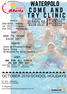 OCTOBER 2019 SCHOOL HOLIDAY COME 'N TRY CLINIC