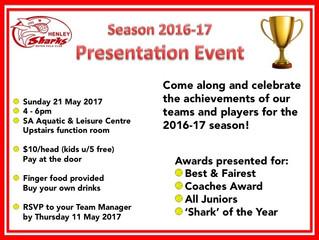 2016-2107 Presentation Event