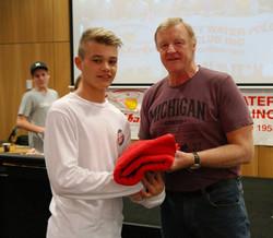 14U Coach's Award Owen Gladdy