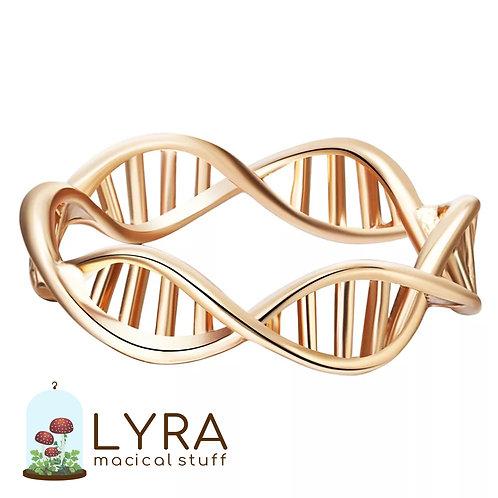 טבעת DNA זהובה