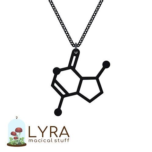 תליון מולקולת קטניפ שחורה