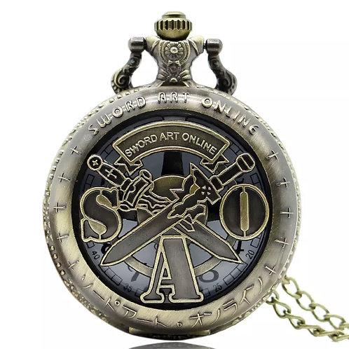 אמנות החרב אונליין - שעון כיס מעוצב