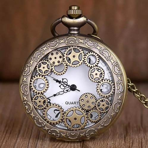 סטימפאנק - שעון כיס מעוצב