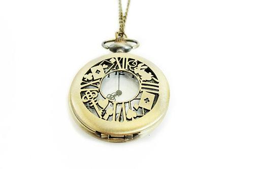 סחרור של זמן - שעון כיס מעוצב