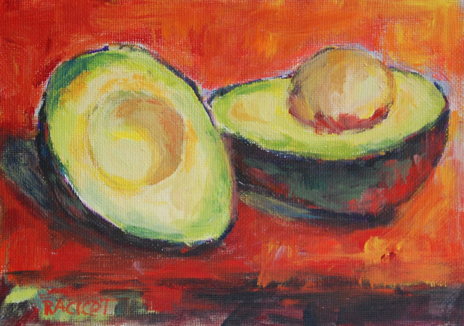 """Day 13 of the 30 Paintings in 30 Days Challenge - """"Ready for Tortilla Soup"""""""
