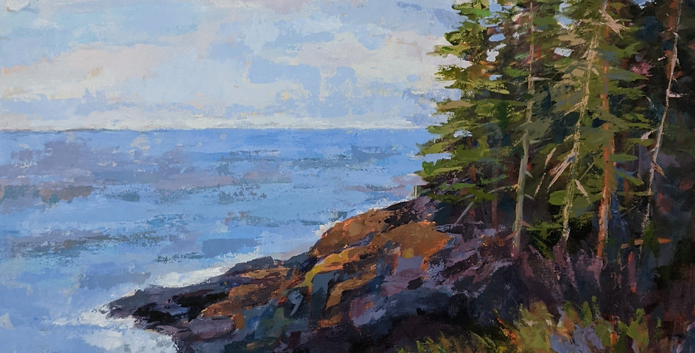 Monhegan Island - On the Cliff Trail