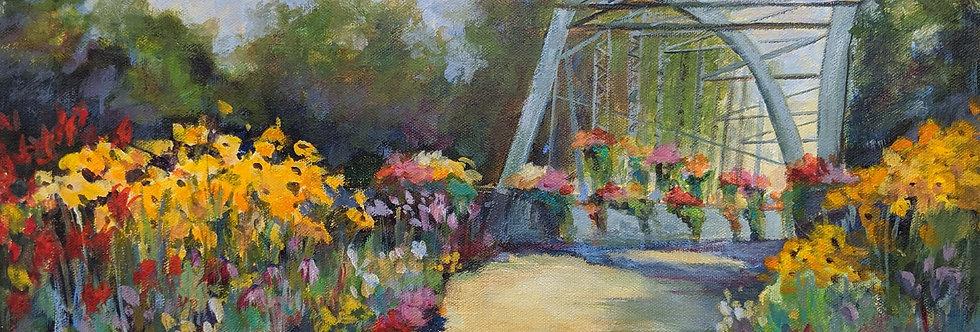 The Old Drake Hill Flower Bridge