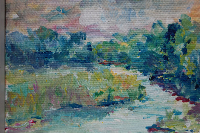 Study of the Lieutenant River - from Florence Griswold museum
