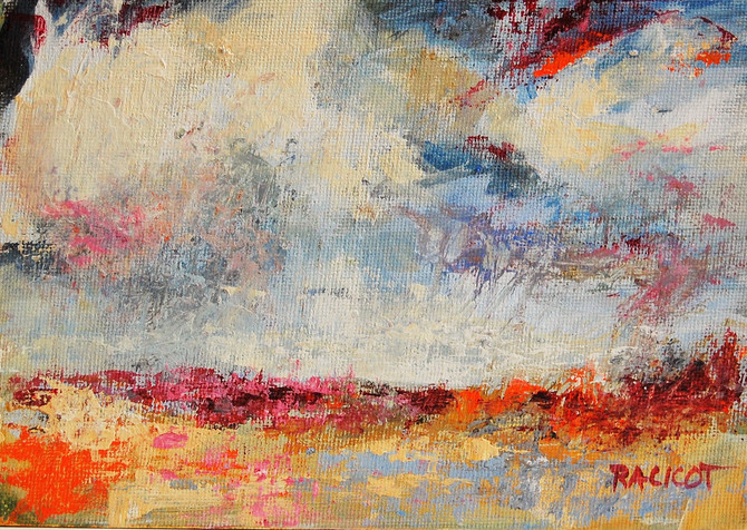 """Day 15 of the 30 Paintings in 30 Days Challenge - """"Afternoon Storm"""""""