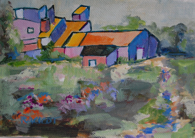 """Day 25 of the 30 Paintings in 30 Days Challenge - """"Color Play"""""""