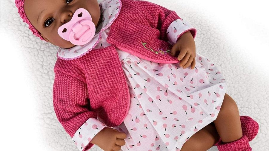 Girl doll pink dress