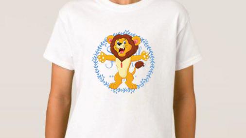 Larry lion heart scar tshirts