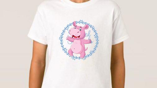 Harry hippo cleft lip tshirts